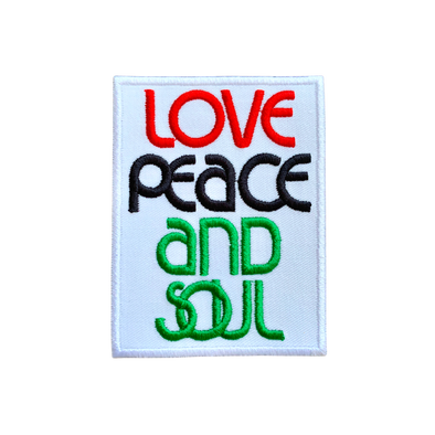 Love Peace & Soul Patch