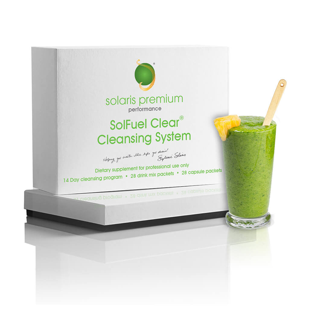 SolFuel Clear® Cleansing System - 14 Day Detox - 28 packets