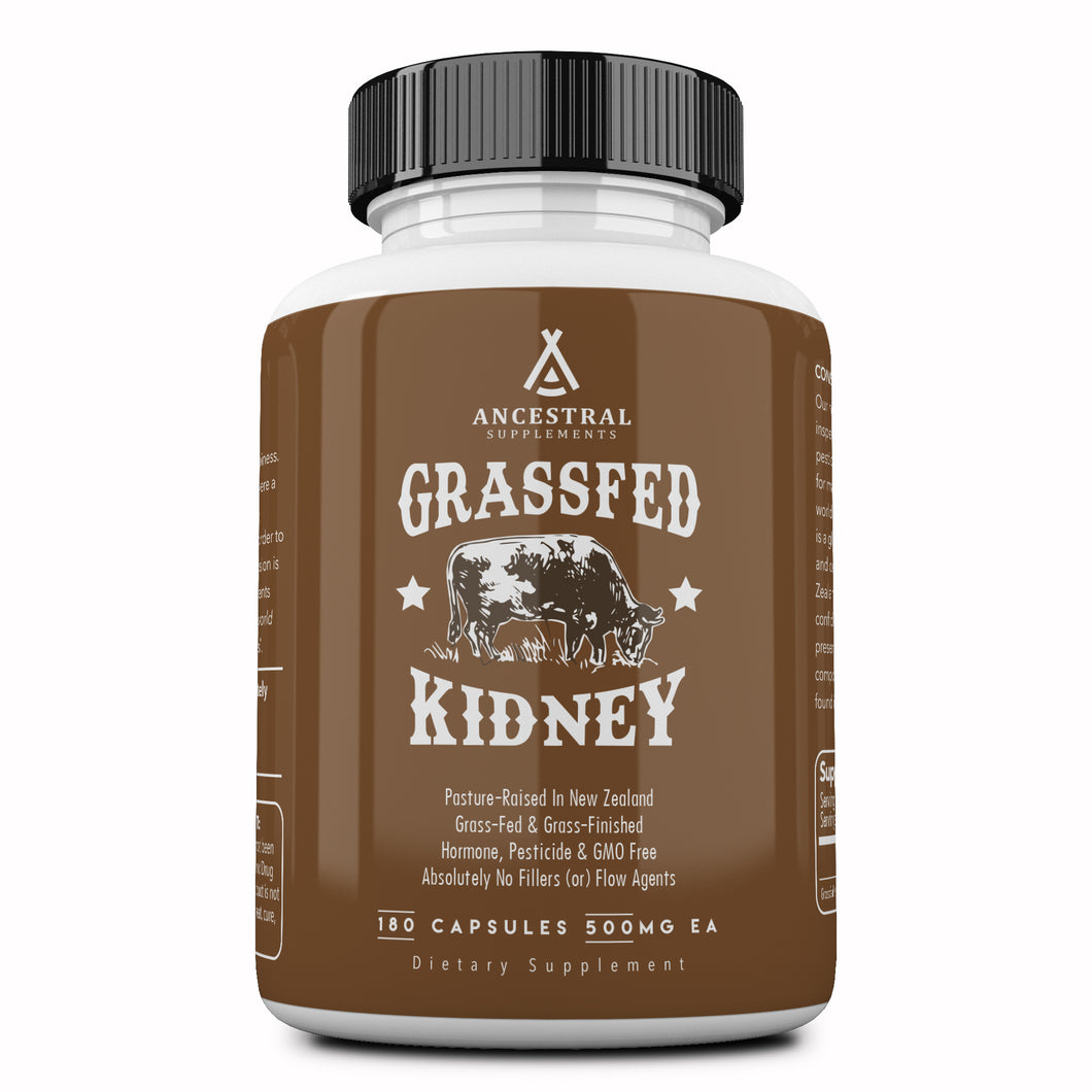 Grass Fed Kidney by Ancestral Supplements - Reserved
