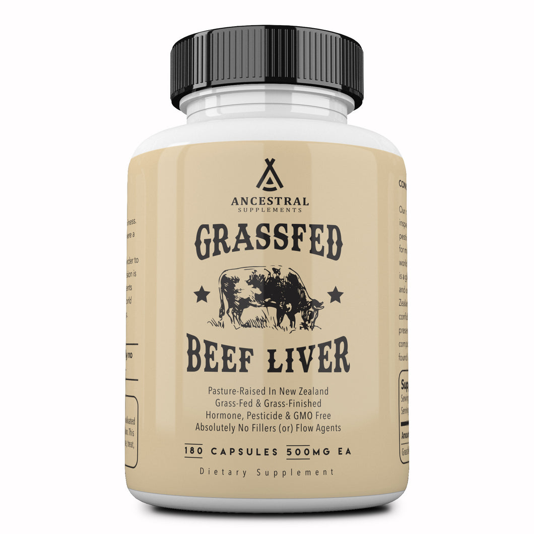 Reserved — Grass Fed Desiccated Beef Liver Capsules by Ancestral Supplements