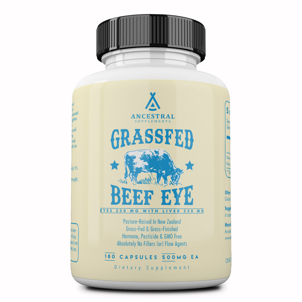 Grass Fed Beef Eye (w/ Liver) by Ancestral Supplements