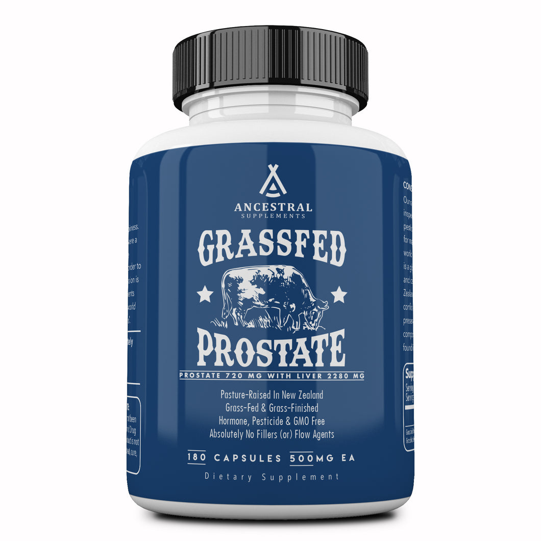 Grass Fed Prostate With Liver by Ancestral Supplements
