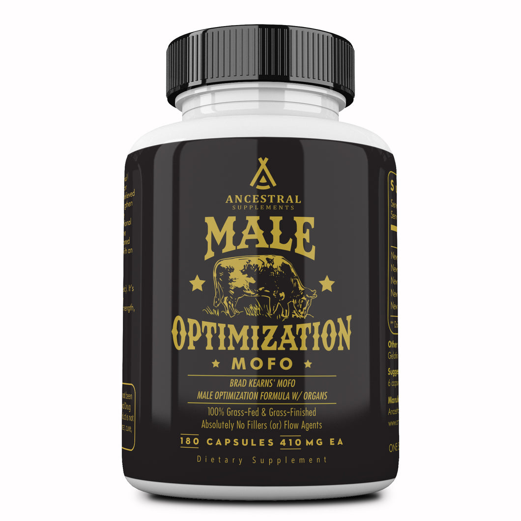 (RESERVED) Male Optimization Formula W/ Organs (MOFO) by Ancestral Supplements