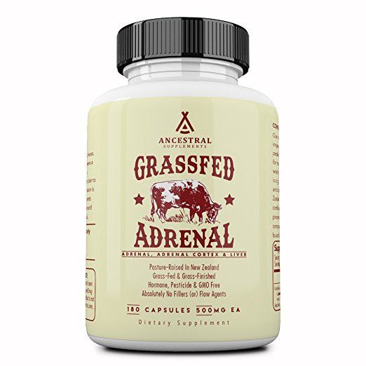 Grass Fed Adrenal Cortex With Liver by Ancestral Supplements