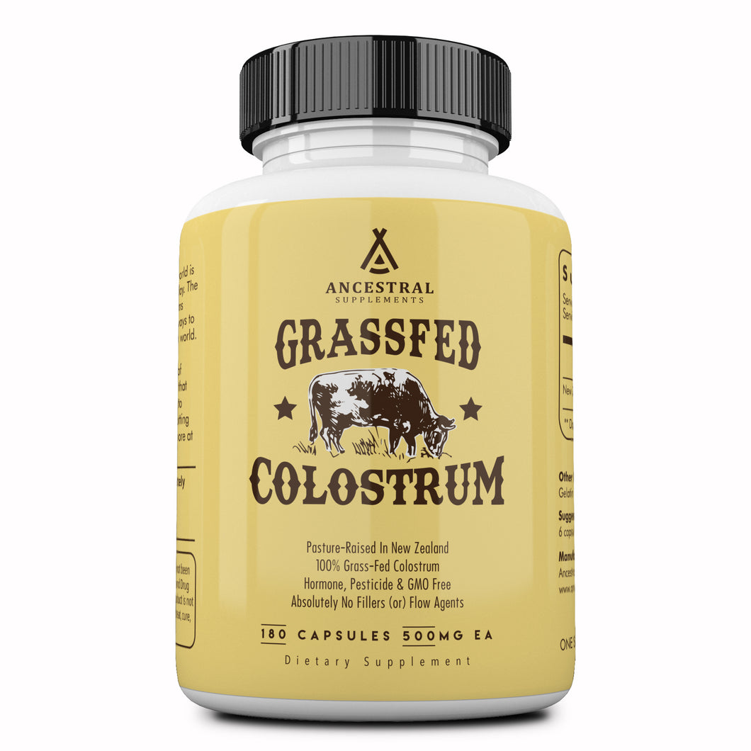 Grass Fed Colostrum by Ancestral Supplements