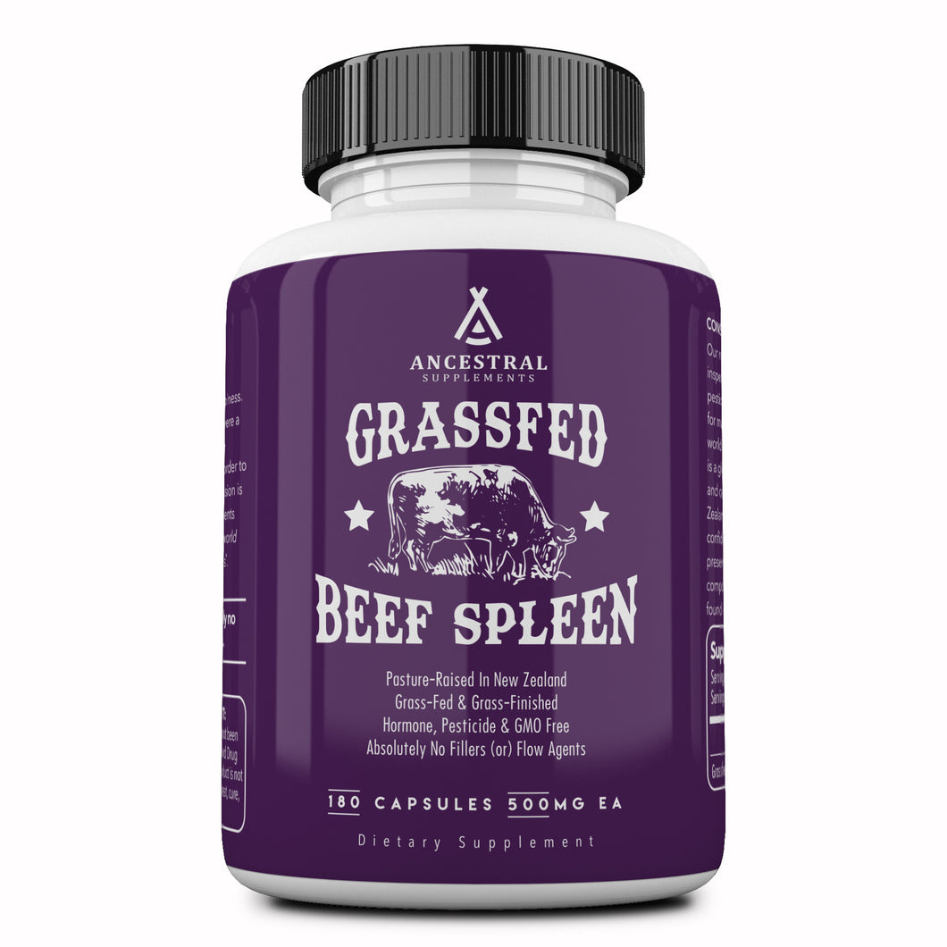 Grass Fed Beef Spleen by Ancestral Supplements
