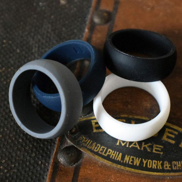 Grey Street Silicone Ring - Classic Width