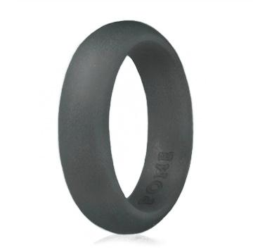 Grey Street Silicone Ring - Thin