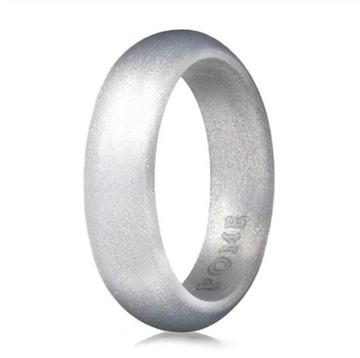 Silver Springs Silicone Ring - Thin