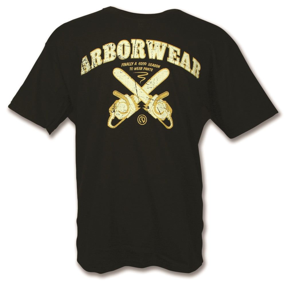 Black Arborwear Chainsaw T-Shirt