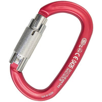 Kong Ovalone ALU Twist Lock Carabiner with Large Opening