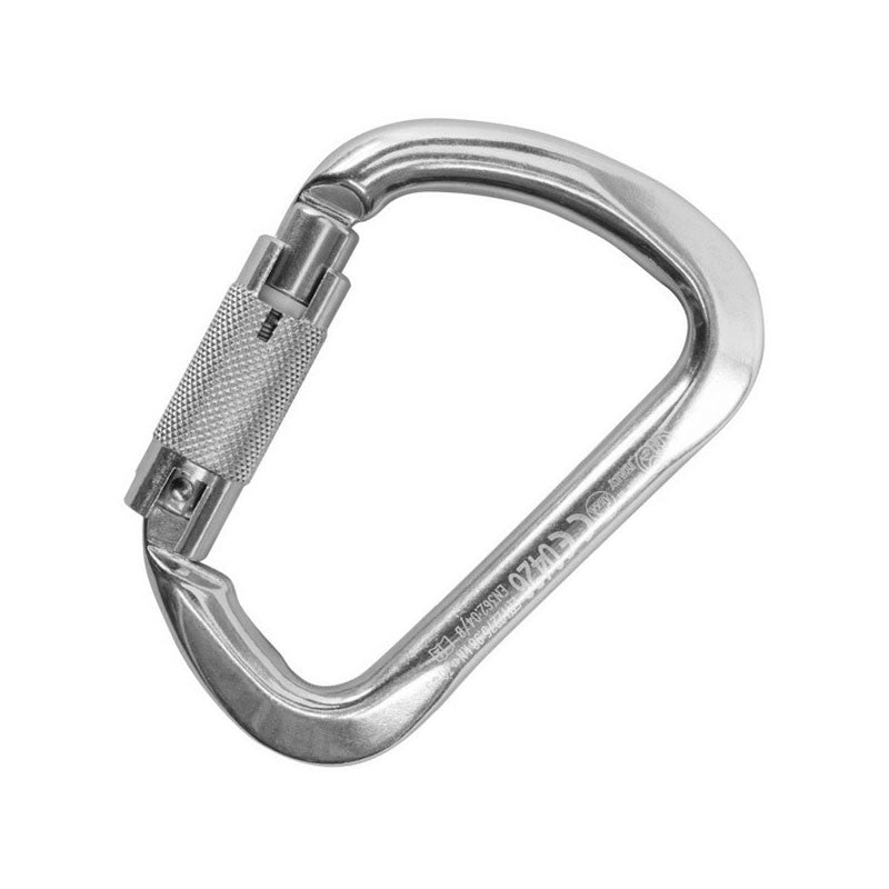 Kong X-Large ALU Carabiner with Auto Block