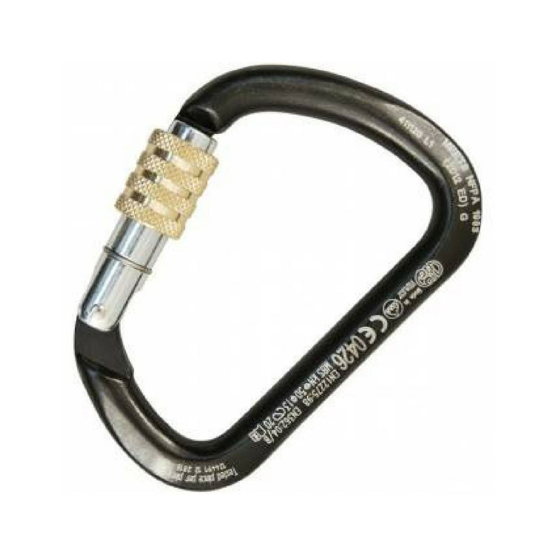 Kong X-Large C Steel Carabiner fitted with Screw Sleeve