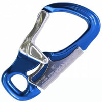 Kong Tango Aluminum Carabiner with Double Gate Safety System