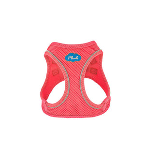 Plush Step In Air Mesh Harness - BubbleGum Pink