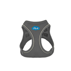 Plush Step In Air Mesh Harness - Shark Grey