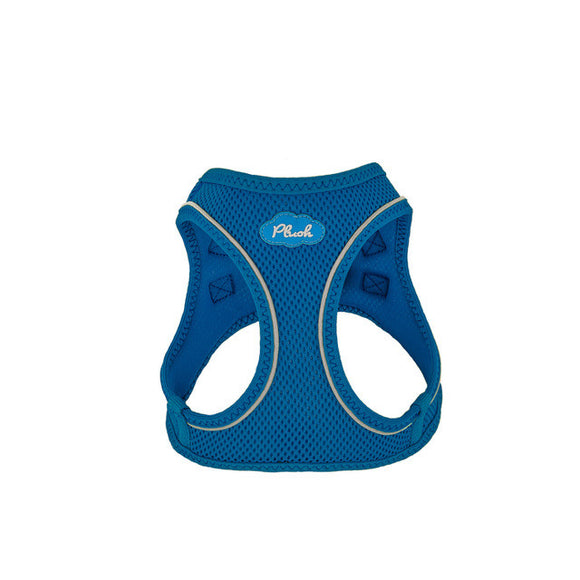 Plush Step In Air Mesh Harness - Lapis Blue