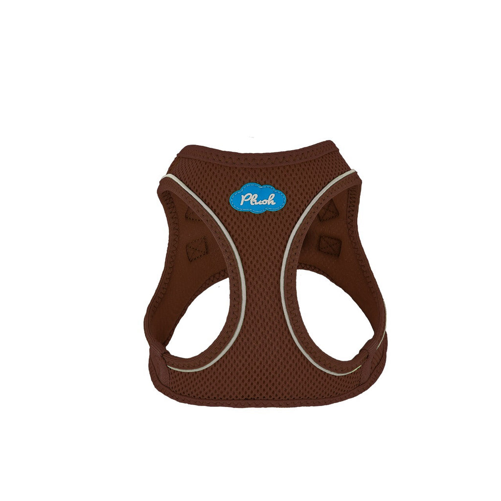 Plush Step In Air Mesh Harness - Toffee