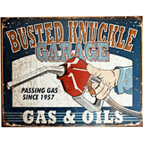 Busted Knuckle Garage Sign - Loomzee