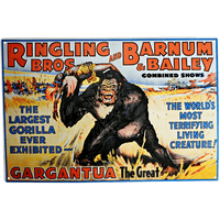 Ringling Bros. King Kong Sign - Loomzee