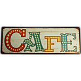 Cafe Metal Sign - Loomzee