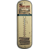 Moose Lake General Store Thermometer - Loomzee