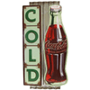 Cold Coca Cola Metal Sign - Loomzee