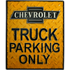 Chevrolet Truck Parking Only Sign