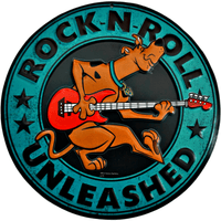 Scooby Doo Rock-N-Roll Sign - Loomzee