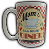 Mom's All Night Diner Coffee Mug