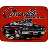 Chevelle By Chevrolet Sign - Loomzee