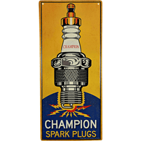 Champion Spark Plugs Sign - Loomzee