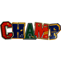 Champ Sports Letters Sign - Loomzee