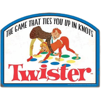 Twister Board Game Sign - Loomzee