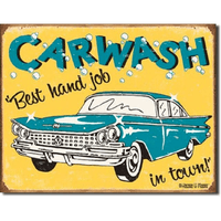 Car Wash Metal Sign - Loomzee