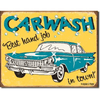 Car Wash Metal Sign