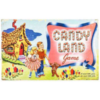 Candy Land Board Game Sign - Loomzee