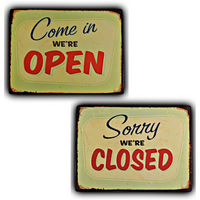 Open & Closed Signs Bundle - Loomzee
