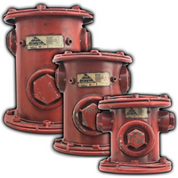 Fire Hydrant Storage Containers - Bundle - Loomzee