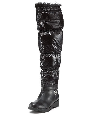 Michael Kors Weather Proof Fur Boots