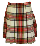 J. Crew Plaid Pleated Skirt