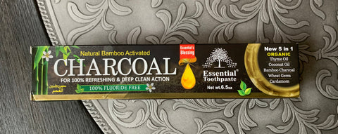 Organic Toothpaste - Charcoal