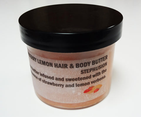Strawberry Lemon Hair & Body Butter - STEPHUSION