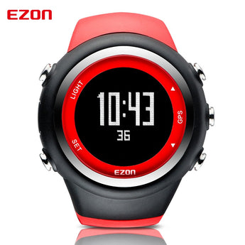 Hot Famous Brand EZON T031 Calorie Counter GPS Timing Outdoor Running Speed Distance Pace Sport Watches Waterproof for Men - urbanlifejewelry