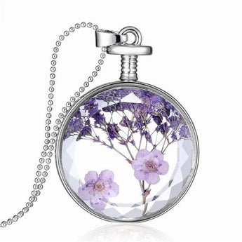 Elegant Lavender Necklace