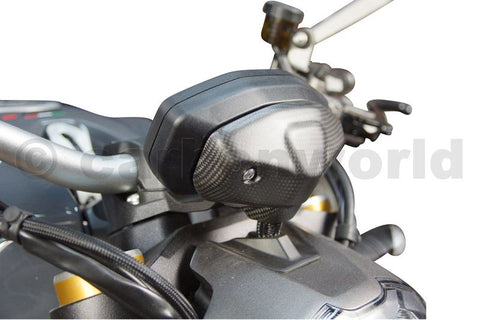 Carbon Cockpit Cover Matte for Ducati Monster 797 821 1200