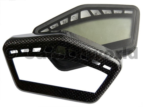 Carbon Fiber Instrument Cover Hypermotard 796-1100