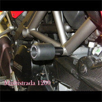 Evotech Crash Bobbins (frame sliders) for Ducati Streetfighter - Multistrada 1200- 848-1098-1198