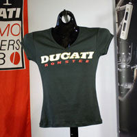 MonsterParts Ducati Monster Womens TShirt