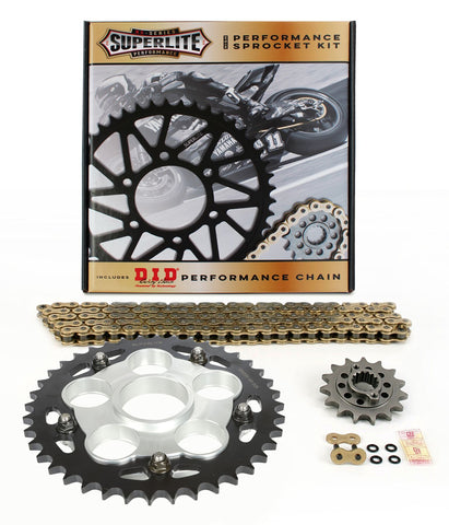 DriveSystems Superlite S Quick-Change Chain-Sprocket Kit (Single-Swingarm)